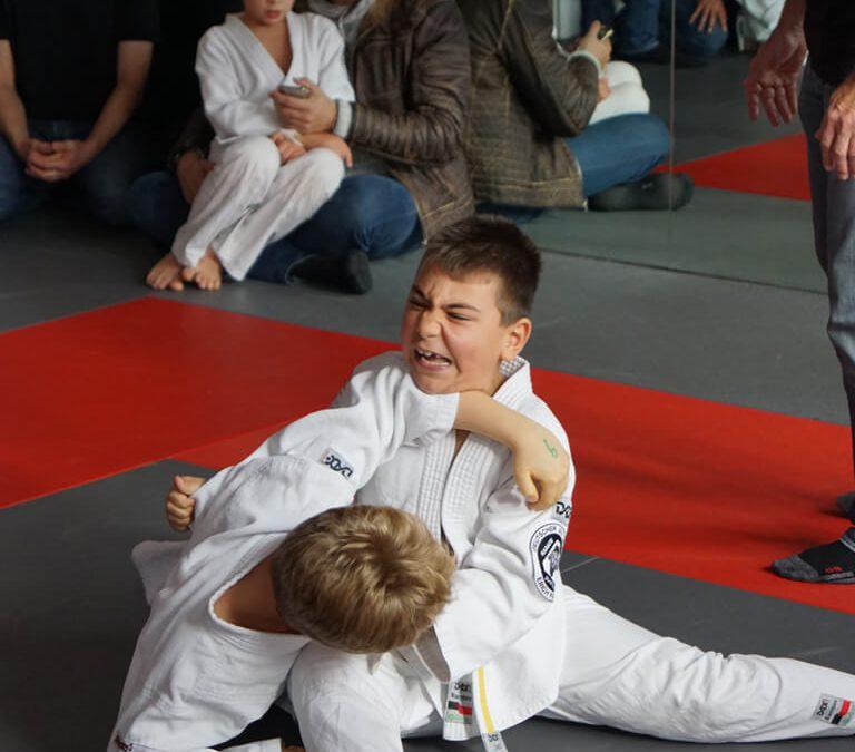 Berliner Meisterschaft der Kinder im Bodenkampf