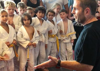 Bodenkampf Kinder Kampfsport Selbstverteidigung 4