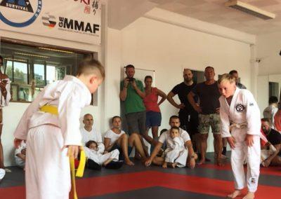 Bodenkampf Kinder Kampfsport Selbstverteidigung 5