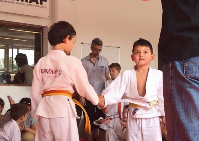 Bodenkampf Kinder Kampfsport Selbstverteidigung 6