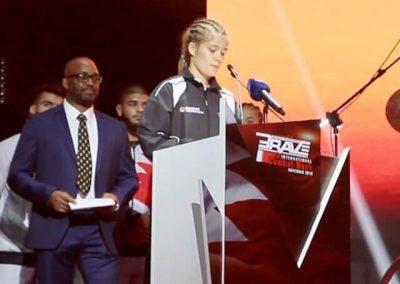 MMA Weltmeisterschaft 2019 Anna Gaul Bild 2