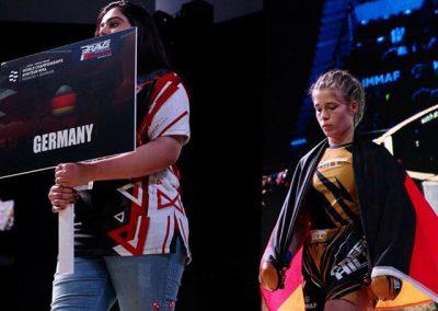 MMA Weltmeisterschaft 2019 Anna Gaul Bild 5