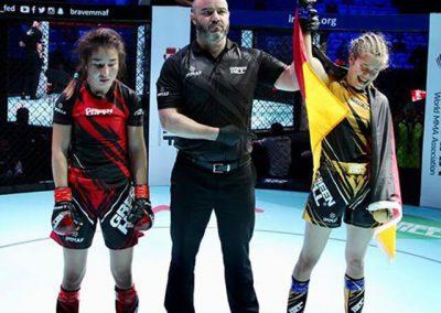 MMA Weltmeisterschaft 2019 Anna Gaul Bild 8