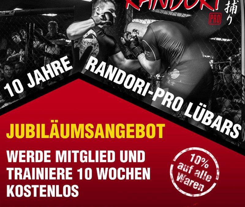Jubiläum – 10 Jahre Randori-Pro Lübars