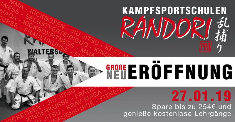 Neueröffnung von Randori-Pro Waltersdorf