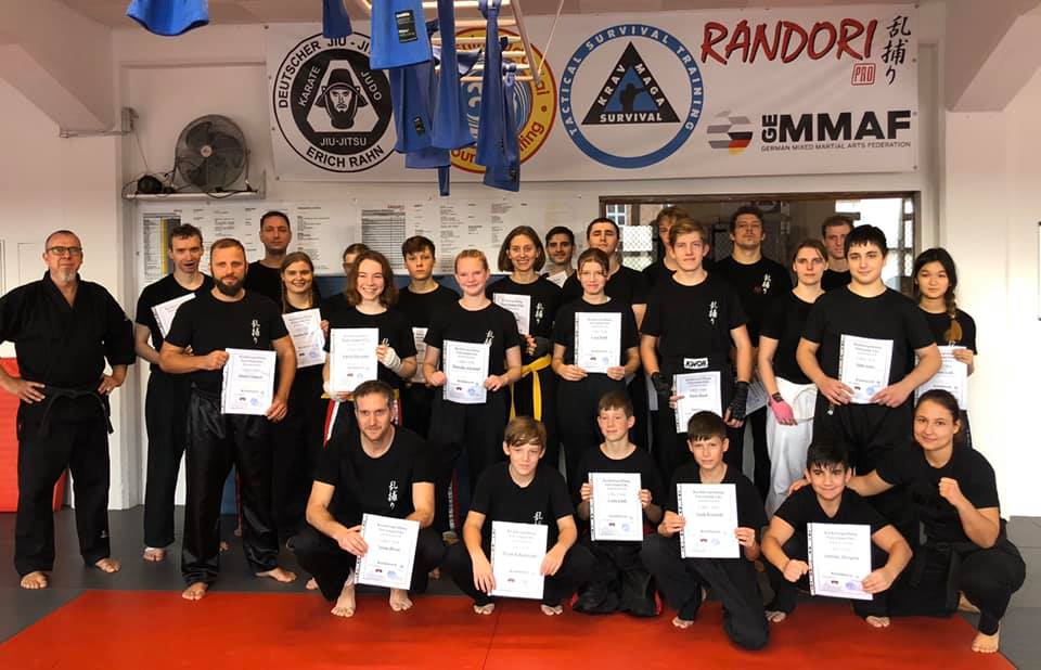 Kickboxprüfung – Winter 2019